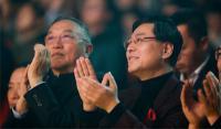退休的柳传志现身联想年会:要守好中国大本营