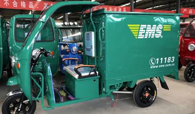 快遞三輪車再見!北京將用新能源汽車替代