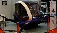 """印尼展示高科技产品""""青蛙"""":载人飞行电动出租车"""