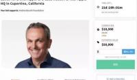 蘋果CFO拍賣慈善午餐一小時,還能參觀蘋果總部