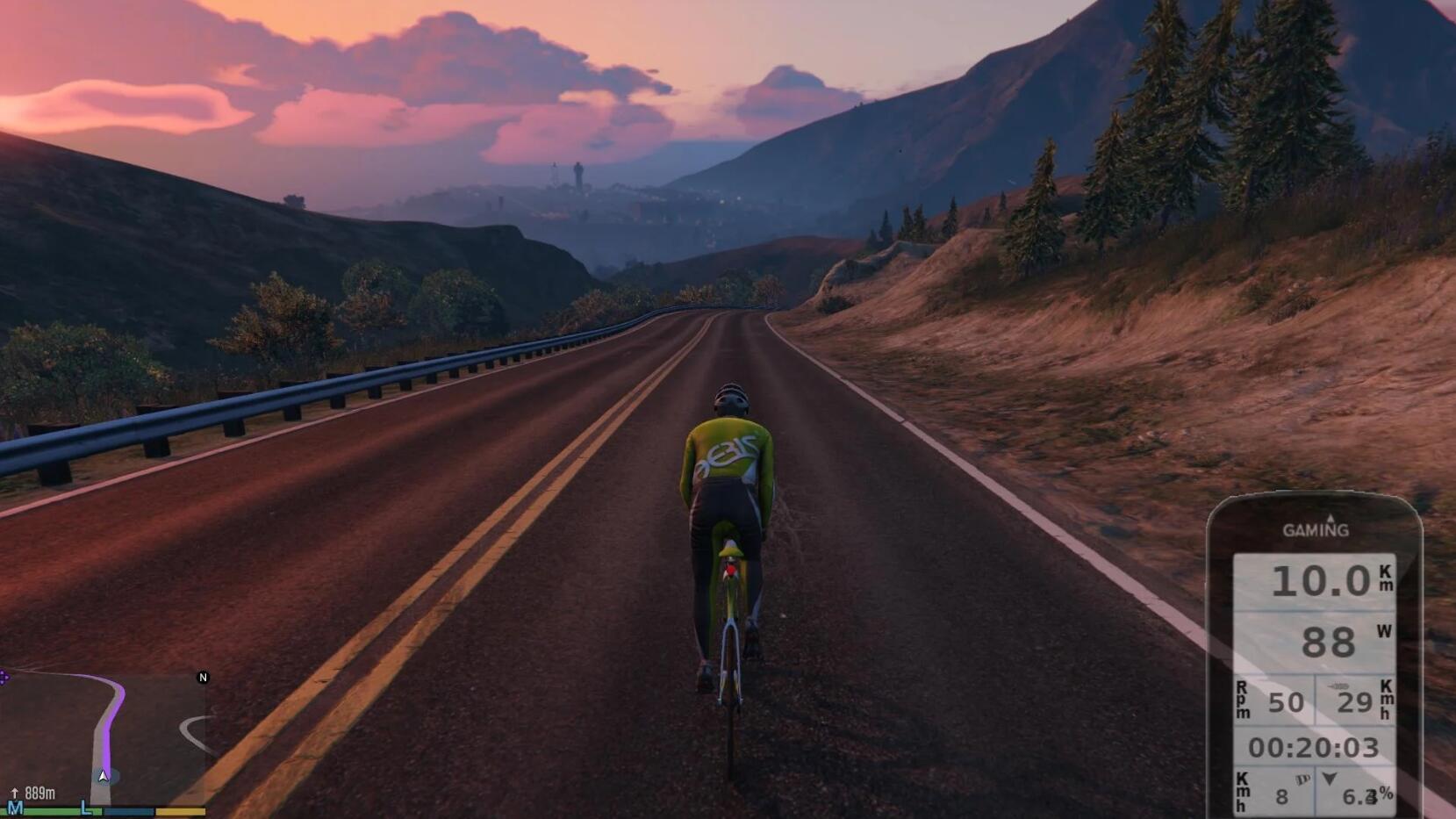 你能使用这个Mod在GTA5里真实骑行啦